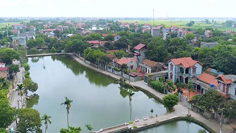Quy hoạch xây dựng hệ thống hạ tầng nông thôn xã Đại Đồng, huyện Văn Lâm, tỉnh Hưng Yên theo xu hướng hạ tầng xanh
