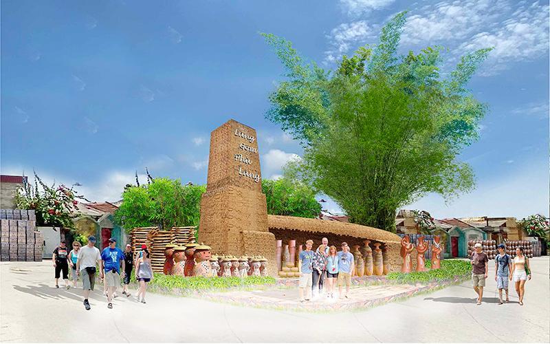 Xây dựng các đề án<br>phát triển làng truyền thống du lịch